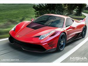 Ferrari 458 Italia por Misha Designs, interesante personalización