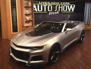 Chevrolet Camaro ZL1 Convertible 2017 ¿te bastan 640 hp?