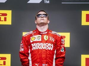 Räikkönen brilla en el GP de Estados Unidos 2018