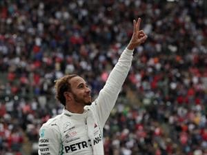 F1 GP de México 2018: Hamilton ya es pentacampeón