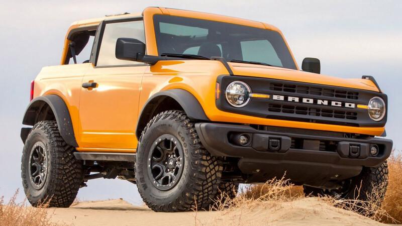Ironías de la vida, el Ford Bronco utiliza neumáticos Wrangler