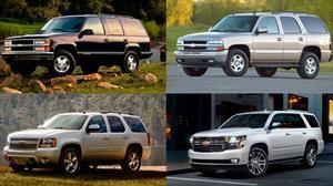 Conoce la historia de la Chevrolet Tahoe para celebrar 25 años
