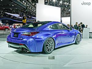 Lexus presenta oficialmente al RC F