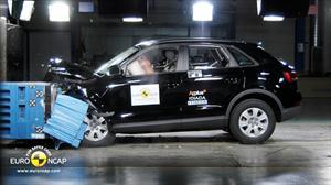 El Audi Q3 obtiene cinco estrellas en seguridad
