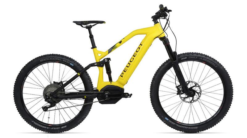 Peugeot lanza su nueva gama de bicicletas eléctricas de montaña