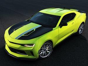Chevrolet Camaro Turbo AutoX Concept experimenta con cuatro cilindros