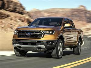 Ford Ranger 2019 es el pickup mediano con el consumo de gasolina más bajo