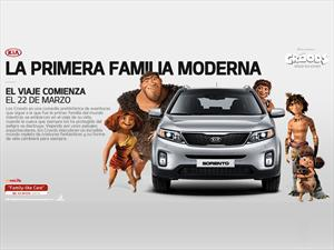 """Kia acompaña con la Sorento el estreno de """"Los Croods"""""""
