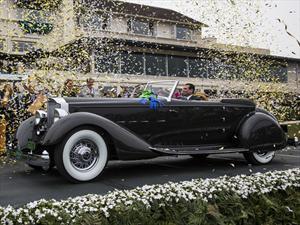 """Packard Twelve Dietrich Victoria Convertible 1934 es el """"Best of Show"""" de Pebble Beach 2013"""