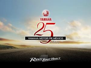 Se cumplen 25 años de la llegada de Yamaha a México