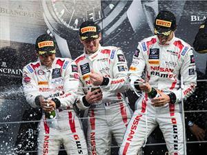 Nissan GT Academy Team gana la segunda posición en el campeonato Blancpain Endurance Series