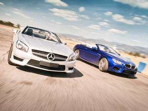 BMW M6 Convertible VS Mercedes-Benz SL 63 AMG V8