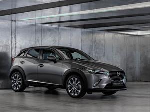 Mazda actualiza el CX-3 con más equipamiento