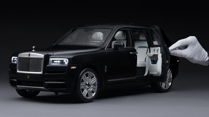 Rolls-Royce hizo un Cullinan a escala y lo vende a USD 18.000, ¿lo comprás?