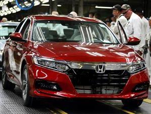 Honda Accord 2018 a producción