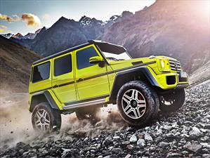 Mercedes-Benz G 500 4x4², una bestia del off-road