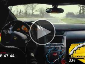 Lamborghini Aventador LP 750-4 SV gira en menos de 7 minutos en Nürburgring