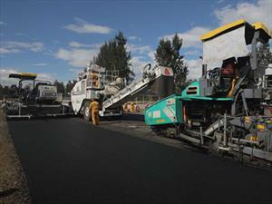 Autódromo Hermanos Rodríguez recibe la segunda capa de asfalto
