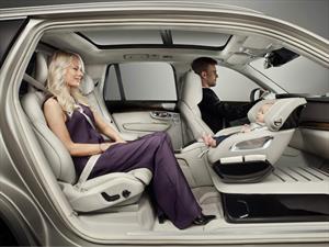 El Volvo Excellence Child Seat Concept te dará ganas de ser un bebé