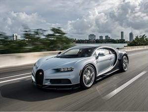 ¿Cuántos Bugatti Chiron se entregaron en 2017?