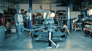 Lamborghini celebra con una familia una Navidad a toda velocidad