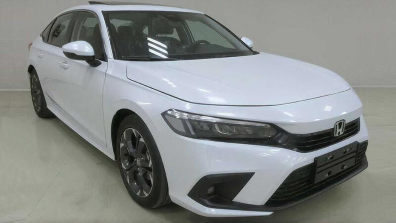 Primeras imágenes del Honda Civic 2022