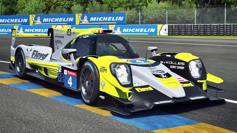 Argentina destacada en las 24 Horas de Le Mans Virtuales
