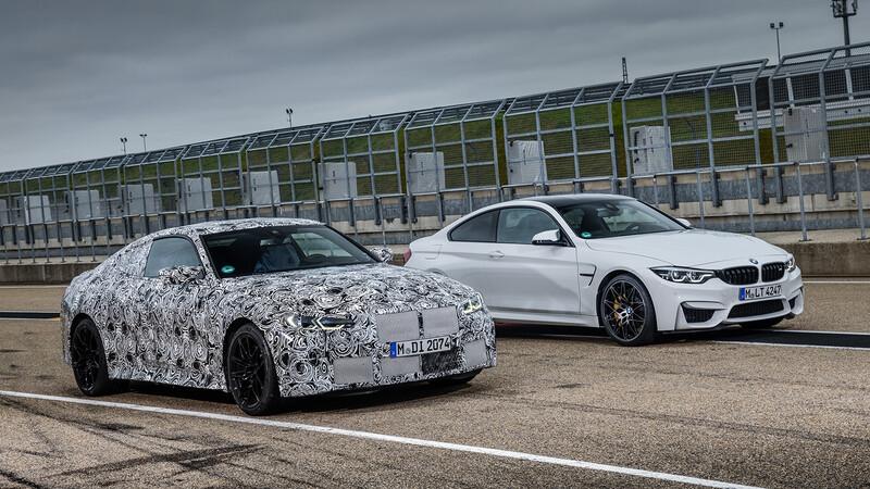 Los próximos BMW M3 y M4 2021 serían tracción trasera y equiparían una caja manual