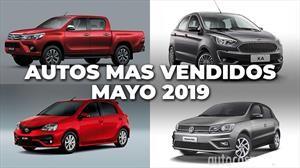 Los 10 autos más vendidos en Argentina en mayo de 2019