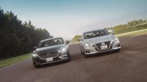Frente a Frente: Nissan Altima 2019 vs Mazda6 2019