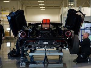 Ford inicia la producción del GT 2017