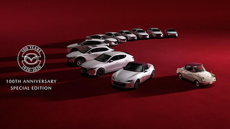 Mazda3 Sedán y Hacthback 100 aniversario 2021 llegan a México, una edición especial conmemorativa