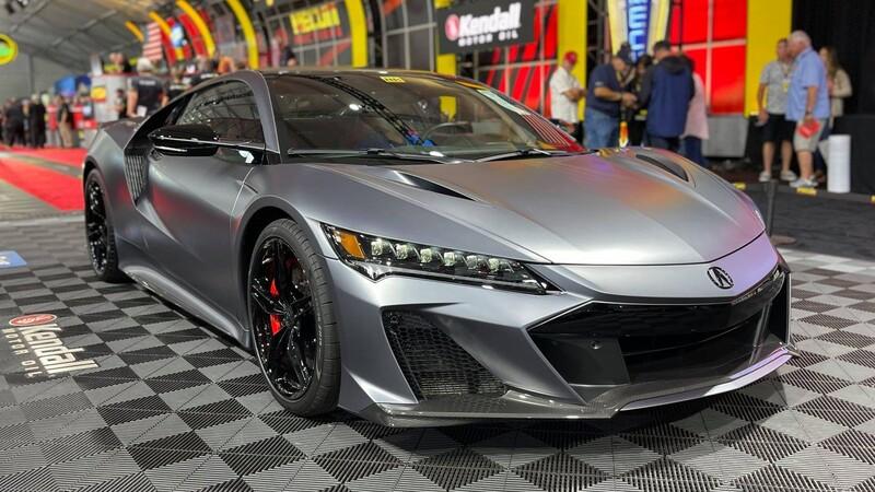 El primer AcuraNSX Type S 2022 fue vendido en más de 20 millones de pesos
