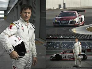 Félix Baumgartner baja de la estratósfera para correr en las 24 horas de Nürburgring