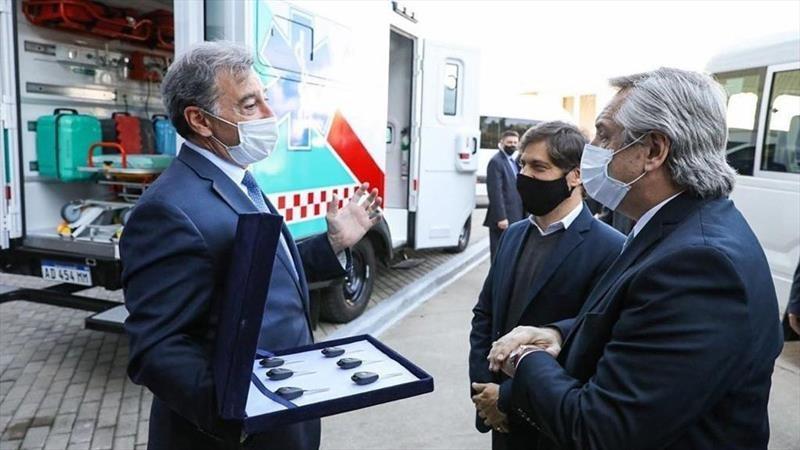 Toyota Argentina donó cuatro ambulancias al Estado