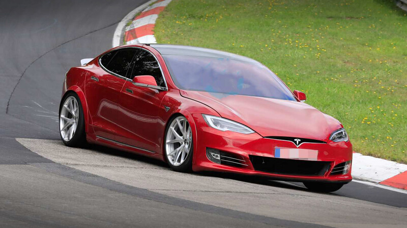 Tesla Model S Plaid, el auto eléctrico de producción más rápido en Nürburgring