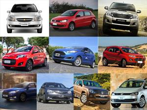 Top 10 los autos más vendidos de Argentina en septiembre de 2015