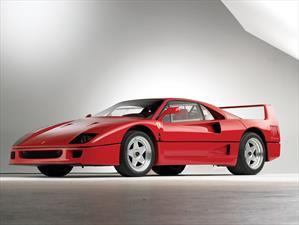 Ferrari F40 de Nigel Mansell es subastado