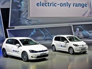 Volkswagen e-Golf y el e-up! se presentan