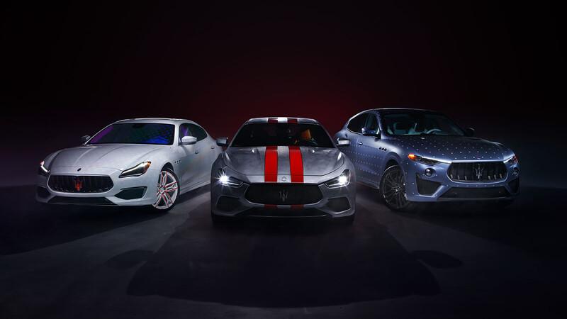 Maserati presenta su programa de personalización Fuoriserie con tres exclusivos modelos