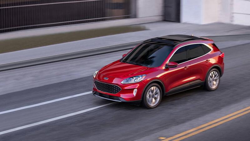 Ford Escape 2021 con dos opciones de motor