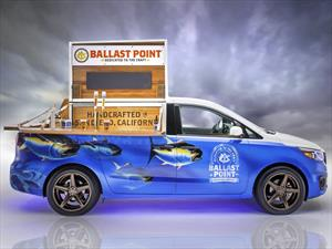 Kia Sedona Ballast Point, un bar sobre ruedas
