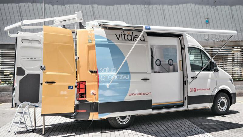 Acondicionan Volkswagen Crafter como unidad móvil para toma de muestras de covid-19