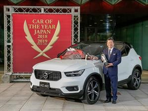 Volvo XC40 es galardonado con el premio Car of the Year 2019