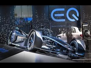 Mercedes-Benz presentó su auto para la Fórmula E