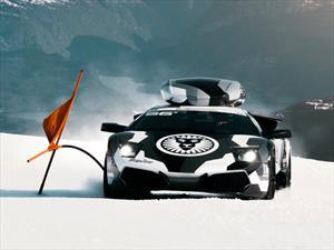 Este Murciélago de Jon Olsson es el mejor Lamborghini para la nieve
