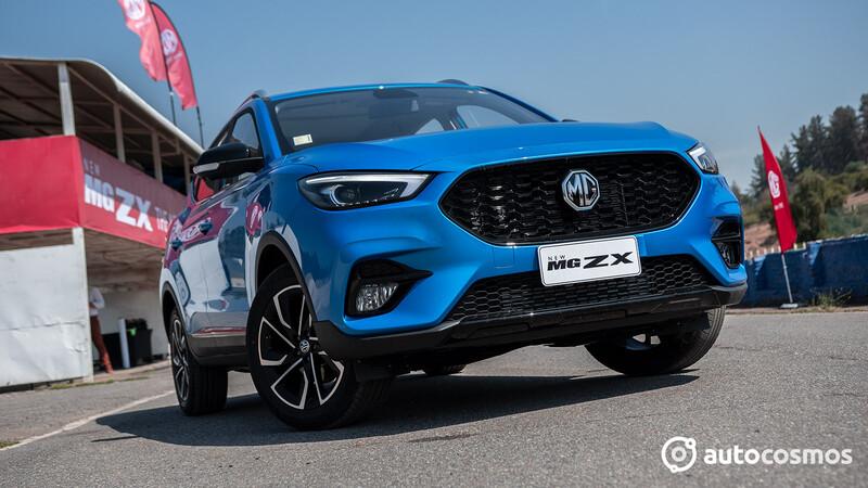 MG ZX 2021 en Chile: el facelift del ZS llega con motor Turbo y caja automática de seis velocidades