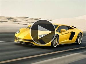 Video: Lamborghini Aventador S a toda marcha