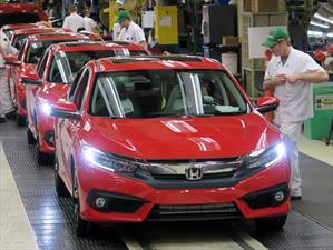 Honda comienza la producción del Civic 2016