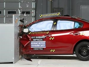 Subaru XV 2018 y WRX 2018 ganan el Top Safety Pick + del IIHS